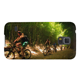 Biking in bamboo trail cases for galaxy s5