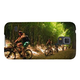 Biking in bamboo trail galaxy s5 cover