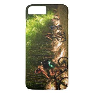 Biking in bamboo trail iPhone 7 plus case
