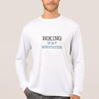 Biking is my Meditation Touring Shirt