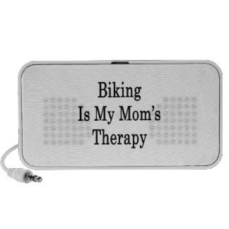 Biking Is My Mom's Therapy PC Speakers