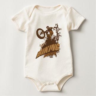 Biking Rocks! Baby Bodysuit