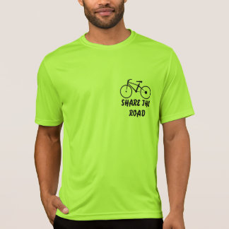 Biking Shirt, Share the Road, Don't Tread on Me. T-Shirt