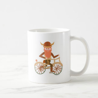 Biking Viking Coffee Mug