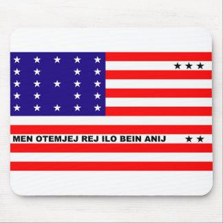 Bikini Atoll flag symbol Mouse Pad