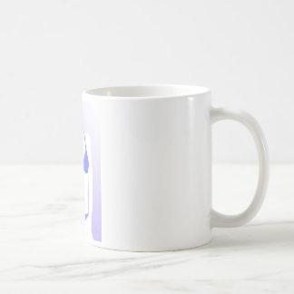 Bikini Girl Blue Coffee Mug