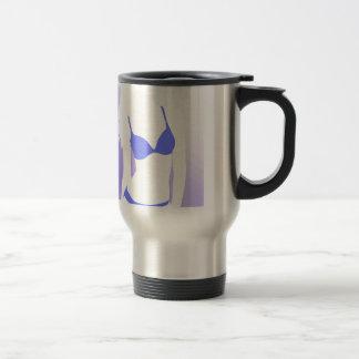Bikini Girl Blue Travel Mug