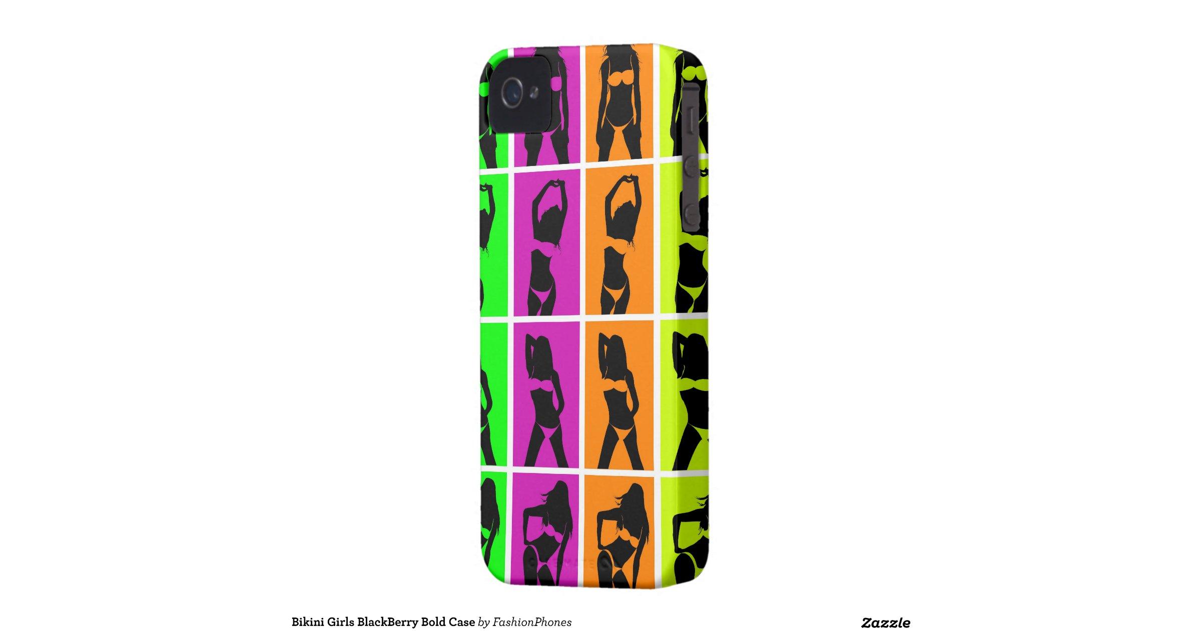 bikini girls blackberry bold case
