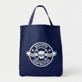 Bikini Island Booty Inspector Canvas Bag