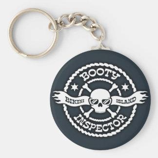 Bikini Island Booty Inspector Key Chains