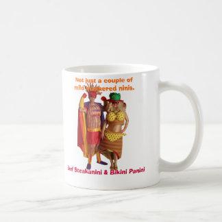 Bikini Panini & Beef Steakanini Mug