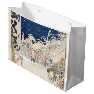 Bikuni Bridge in Snow Large Gift Bag