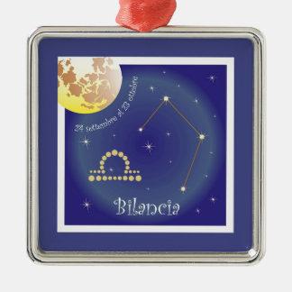 Bilancia 24 settembre Al 23 ottobre ornamentation Christmas Tree Ornaments