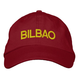 Bilbao Cap Embroidered Hats