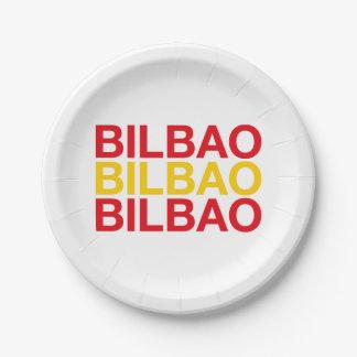 BILBAO PAPER PLATE