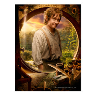 BILBO BAGGINS™ in Shire Collage Postcard