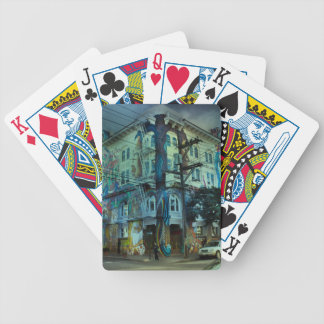 Bilding san francisco bicycle playing cards