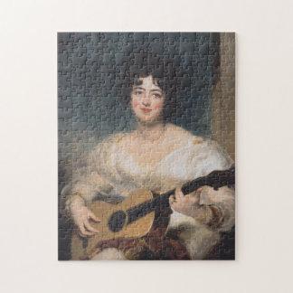 Bildnis der Lady Wallscourt bei Jigsaw Puzzle