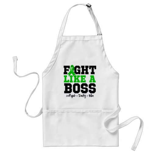 Bile Duct Cancer Fight Like a Boss Apron