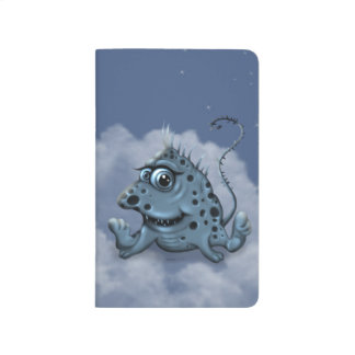 BILIBI ALIEN MONSTER CARTOON  Pocket Journal