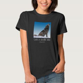 Bilingual Wolf Crowing Shirt