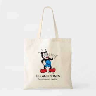 Bill and Bones Tote Bag