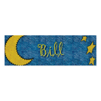 Bill Celestial Bookmark Pack Of Skinny Business Cards
