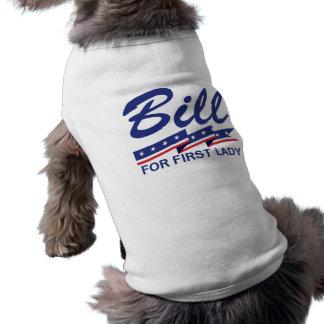 Bill Clinton First Lady Sleeveless Dog Shirt