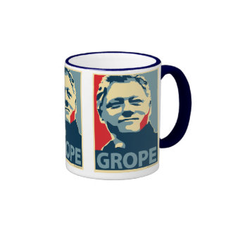 Bill Clinton - Grope: OHP Mug