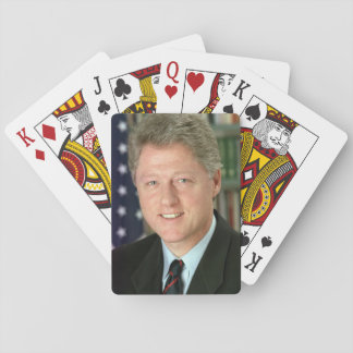 Bill Clinton Poker Deck