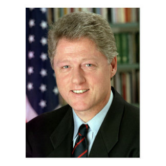 Bill Clinton Postcard