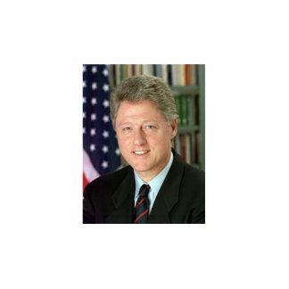 Bill Clinton Standing Photo Sculpture