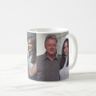 Bill Clinton & The Trumps At The 2000 U.S. Open Coffee Mug