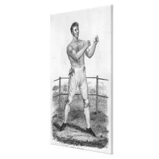 Bill Neat, engraved by Percy Roberts Gallery Wrapped Canvas