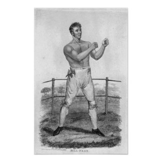 Bill Neat, engraved by Percy Roberts Poster