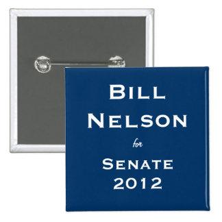 Bill Nelson for Senate Pin