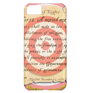 Bill of Rights iPhone 5C Cases