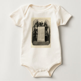 Bill of Rights French Constitution of 1795 Baby Bodysuit