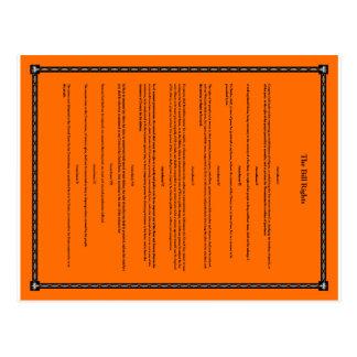 Bill of Rights Postcard