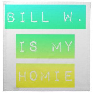 Bill W Homeboy Fellowship AA Meetings Napkin
