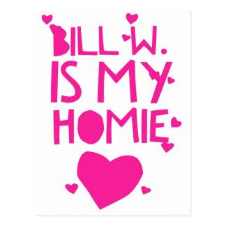 Bill W Homeboy Fellowship AA Meetings Postcard