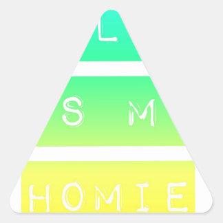 Bill W Homeboy Fellowship AA Meetings Triangle Sticker