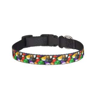 Billard Balls Pet Collar