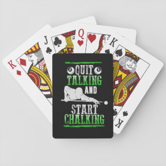 Billard Style Playing Cards