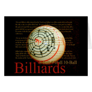Billards Card