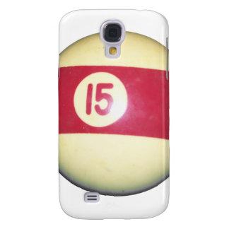 Billiard Ball #15 Galaxy S4 Covers