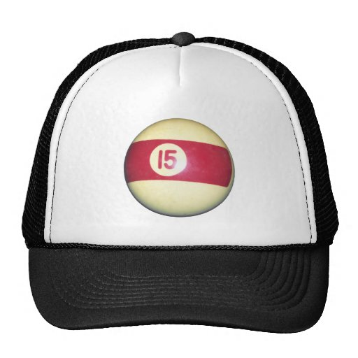 Billiard Ball #15 Mesh Hat