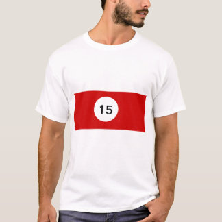Billiard Ball 15 T-Shirt