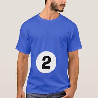 Billiard Ball 2 - maternity T-Shirt