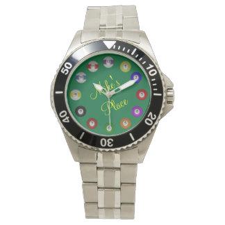 Billiard Ball Numbered Watch